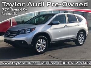 2013 Honda CR-V EX, ALL-WHEEL DRIVE, USB, HEATED SEATS