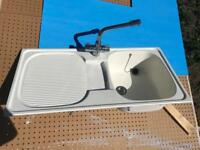 Mobile home sink
