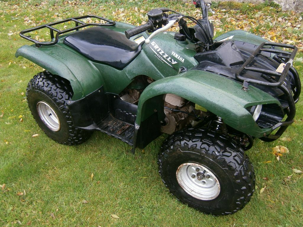 yamaha grizzly 125 auto quad atv in fraserburgh. Black Bedroom Furniture Sets. Home Design Ideas