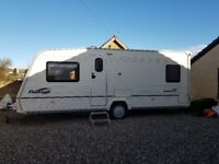 Bailey Pageant Bordeaux 2006 Series 5 4 Berth Fixed Bed. CRIS Registered.