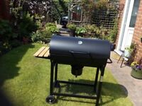 Dome topped waggon BBQ