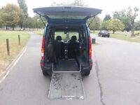 2008 renault kangoo 1.6cc automatic disable access petrol van,low miles,service hist,excellent cond