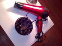 Hairdryer - Red hot