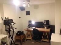 Music recording studio / writing room £225pm