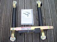 Hydraulic vehicle lifting positioning jack