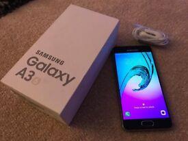 Samsung Galaxy A3 SM-A310F 2016 (Black, Mint condition, Unlocked)