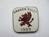 dragon rally badge 1989 ,excellent condition