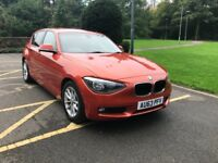 (63) ** BMW 116D EFFICIENT DYNAMICS BUSINESS ** LEATHERS** * 1 F/OWNER*