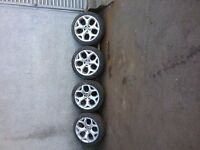 "Bmw x5 20"" alloy wheels genuine"