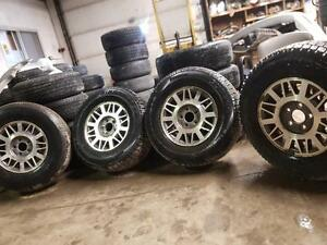 235 70 15 set of 4 with alloy wheels