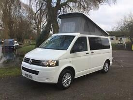 2013 VOLKSWAGEN TRANSPORTER T5 WITH BRAND NEW CAMPERVAN CONVERSION. £25995