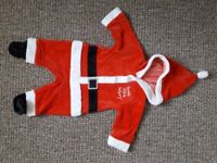Christmas baby fancy dress 0-3 months