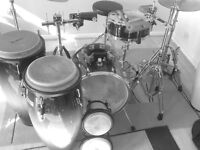 Conga Lessons, Bongo Lessons, Timbale Lessons, Latin, Brasilian, Caribbean, African Drumkit Lessons.