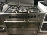 De Dietrich range gas cooker and electric ovens 90cm