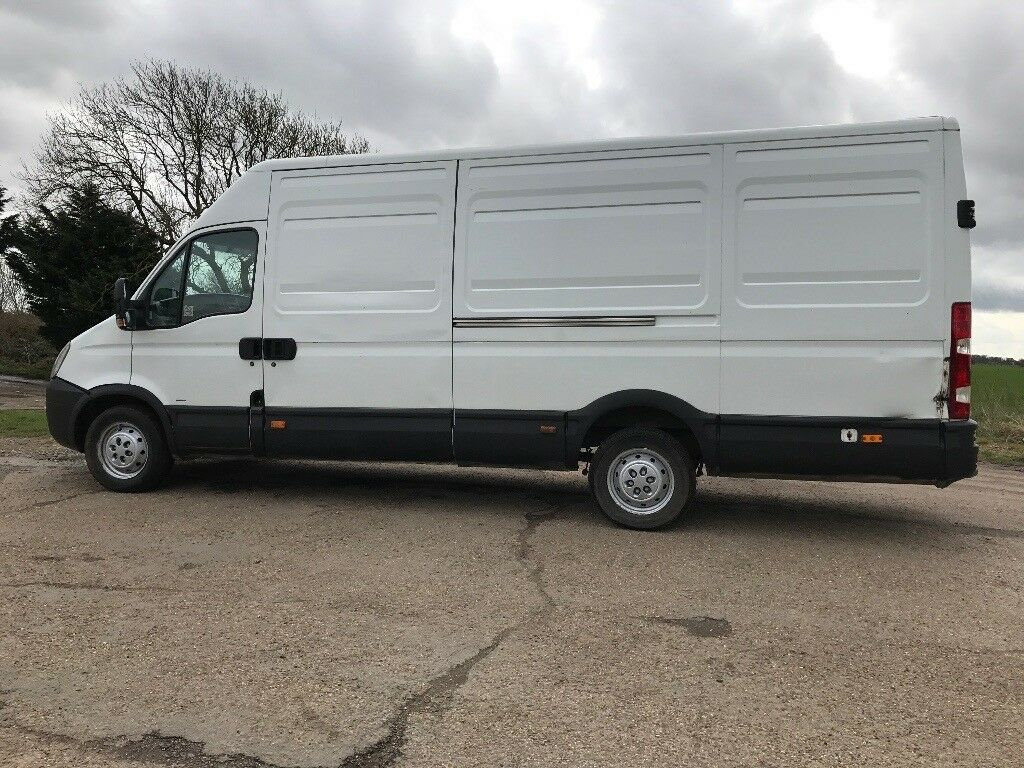 06b74ad4e9a934 Iveco daily lwb van 4m 2007 2.3 manual diesel good runner crafter sprinter  transit