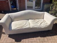 Free large sofa- an up cycle project