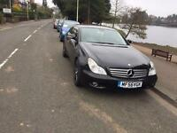 2006( 56 ) MERCEDES CLS 320 CDi AUTO 2987cc DIESEL 5 DOOR BLACK WITH SERVICE HISTORY* 2 KEYS *