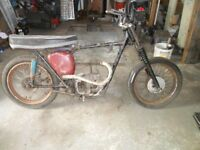 BSA C15 Motorcycle spares Project