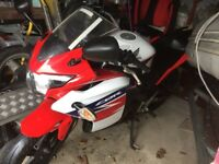 CBR125R 2011 new shape new mot