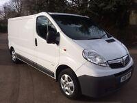 Vauxhall Vivaro 2900lwb 2.0cdti 115 6 speed 11reg 81000miles full service history