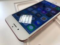 Apple iPhone 6s - 32GB - O2/GiffGaff/Tesco - Rose Gold - 6 Month Warranty With Receipt