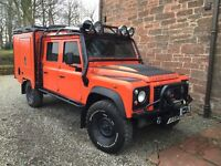 Landcover defender 130 Quad Tec1 (Ex Landrover G4 challenge Vehicle )