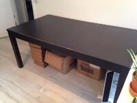 FREE Black Ikea Extendable Dining Table