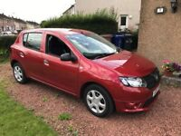 Dacia Sandero Ambiance 2016 1500 Red low mileage