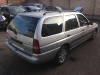 Silver colour Rust free Ford Escort Estate rear tailgate/doors/bonnet/bumpers
