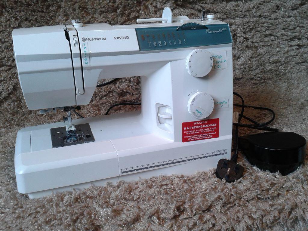 Husqvarna Viking Emerald 116 Sewing machine | in ...