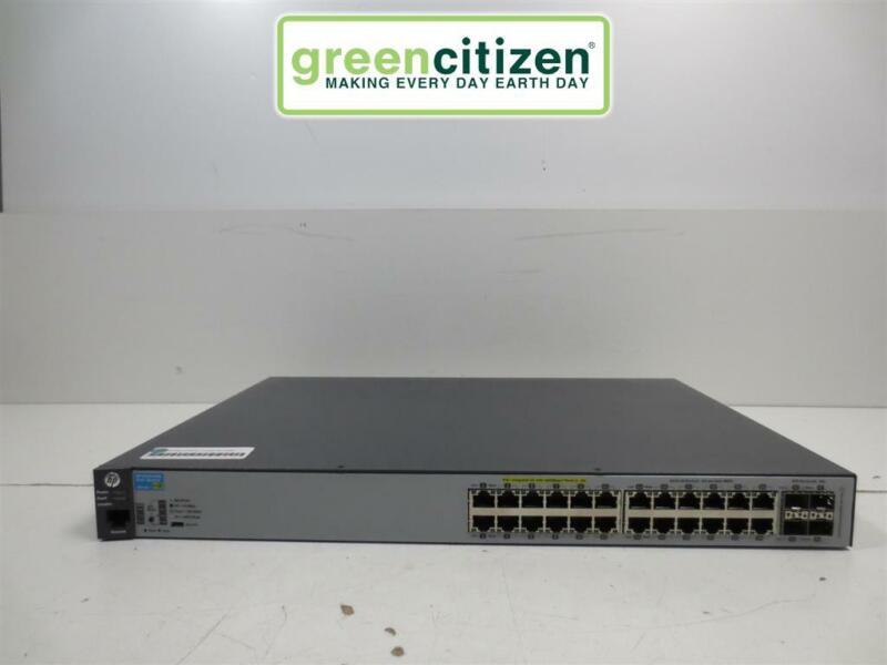 HP 2530-24G PoE+ 4SFP Rack-Mountable Gigabit Network Switch J9773A