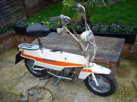 motobecane suit case moped vintage classic