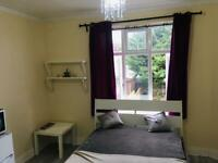Double room for single occupancy or couple available immediately