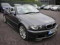 2005 BMW 320CI SPORT 3 SERIES E46 AUTO CONVERTIBLE - HEATED LEATHER