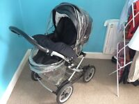Mamas and Papas Primo Viaggio Travel System. £80. Pick up from Roslin.
