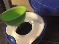 Potty 3 in 1 toilet seat step stool Potty training aid