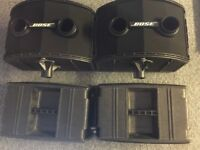 Bose 802 Pa speakers with controller