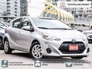 2015 Toyota Prius c One Owner Toyota Certified
