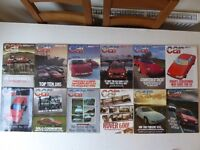 Vintage editions of CAR Magazine. All 12 issues from 1985.