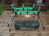 2 x MAVER XL POLE ROLLERS AND PLATINUM ROLLER BAG