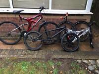 Scrap Bikes for parts