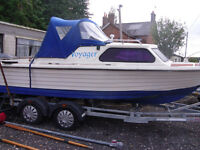 18 FT Teal fishing / pleasure boat project