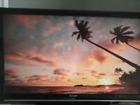 Sharp LC40F22E 40 Inch Full HD 1080p Freeview LCD TV Great condition/working order, remote control