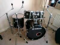 Yamaha Stage Custom drum set