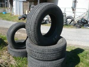 Four 255-70-16  tires $140.00
