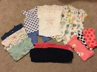 Girls clothing size 12-18m bundle