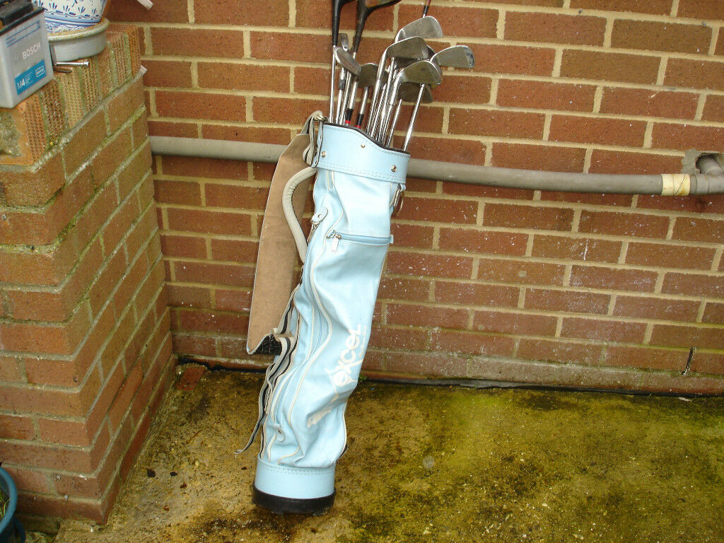 golf clubs with bag need gone