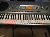 CASIO LK-73 light up keyboard with stand