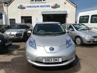 2013 NISSAN LEAF AUTO, 34K, FSH,SCOTTISH GOV OWNER,IMMACULATE CONDITION,ZERO ROAD TAX,BATTERY OWNED