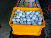 OVER 200 GOLF BALLS FOR £75.00 or 20 GOLF BALLS FOR £5.00